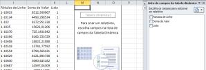 Base para análise dos dados